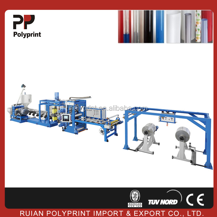 PP/PS plastic sheet extruder