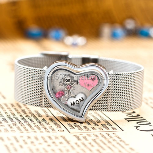1000+ styles MOQ only 20pcs pink I heart you Jewelry floating charms for necklace making