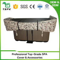 2017 new customize alloy with black best spa cover lifter