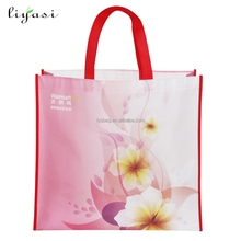 China factory eco cheap waterproof custom logo recyclable laminated pp non woven bag for shopping