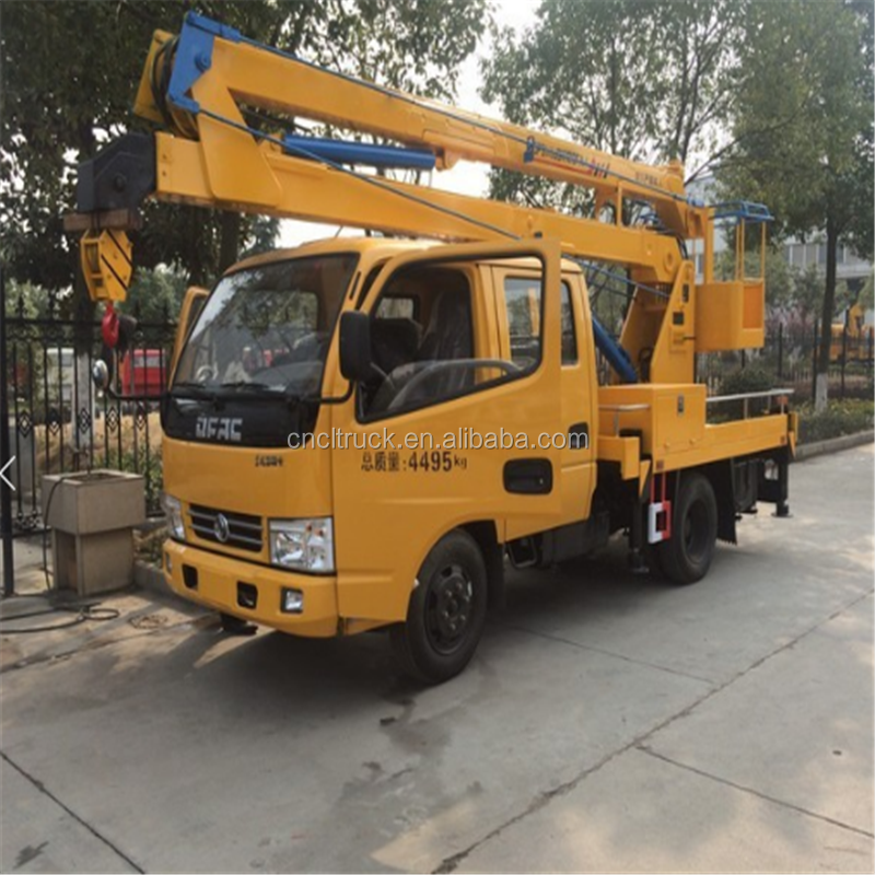 China 12m-20m high altitude equipments hydraulic high altitude operation truck for sale