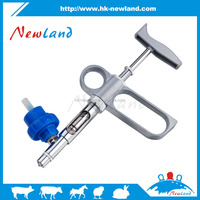 NL105 top telling veterinary products 1ml D type Adjustable continuous injector