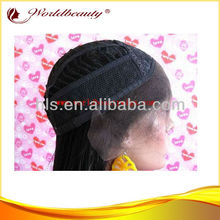 "Wholesale stock 100% human hair open cap lace front wigs14"" 1B straight"