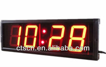 "Remote LED Countdown Timer 4"" Large Digital LED Wall Clock LED Countdown Clock"