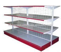 L-708 supermarket display stand and rack,metal wire diaplay rack