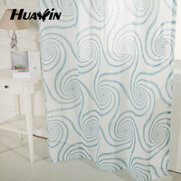 trustworthy china supplier wholesale 100%polyester white voile pigment printed fabric curtain