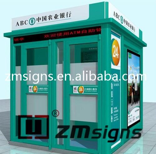 ZMSIGNS Wall Mounted ATM Shelter / ATM Canopy & ZMSIGNS Wall Mounted ATM Shelter / ATM Canopy View ATM Shelter ...