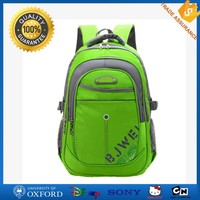 High quality polyester lightweight latest fashionable school backpack bags