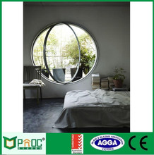 Elegant round window vent aluminum rolling shutter window