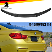 CAR REAR SPOILER WING FOR BMW F82 M4 2015+ CARBON TRUNK SPOILER