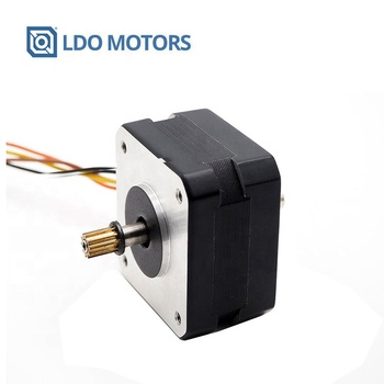 1.8degree nema17 25mm body length hybrid stepper motor with 1A rated current