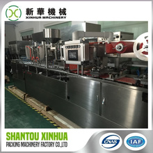Custom logo Manually Table PVC Paper Card Blister Sealing Machine With Recycle System