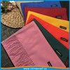 70*180cm solid color cheap thick charmeuse feeling shawl factory cashmere scarf