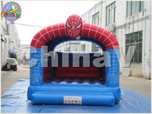 cartoon theme inflatable bouncy house/commercial jumping bouncy