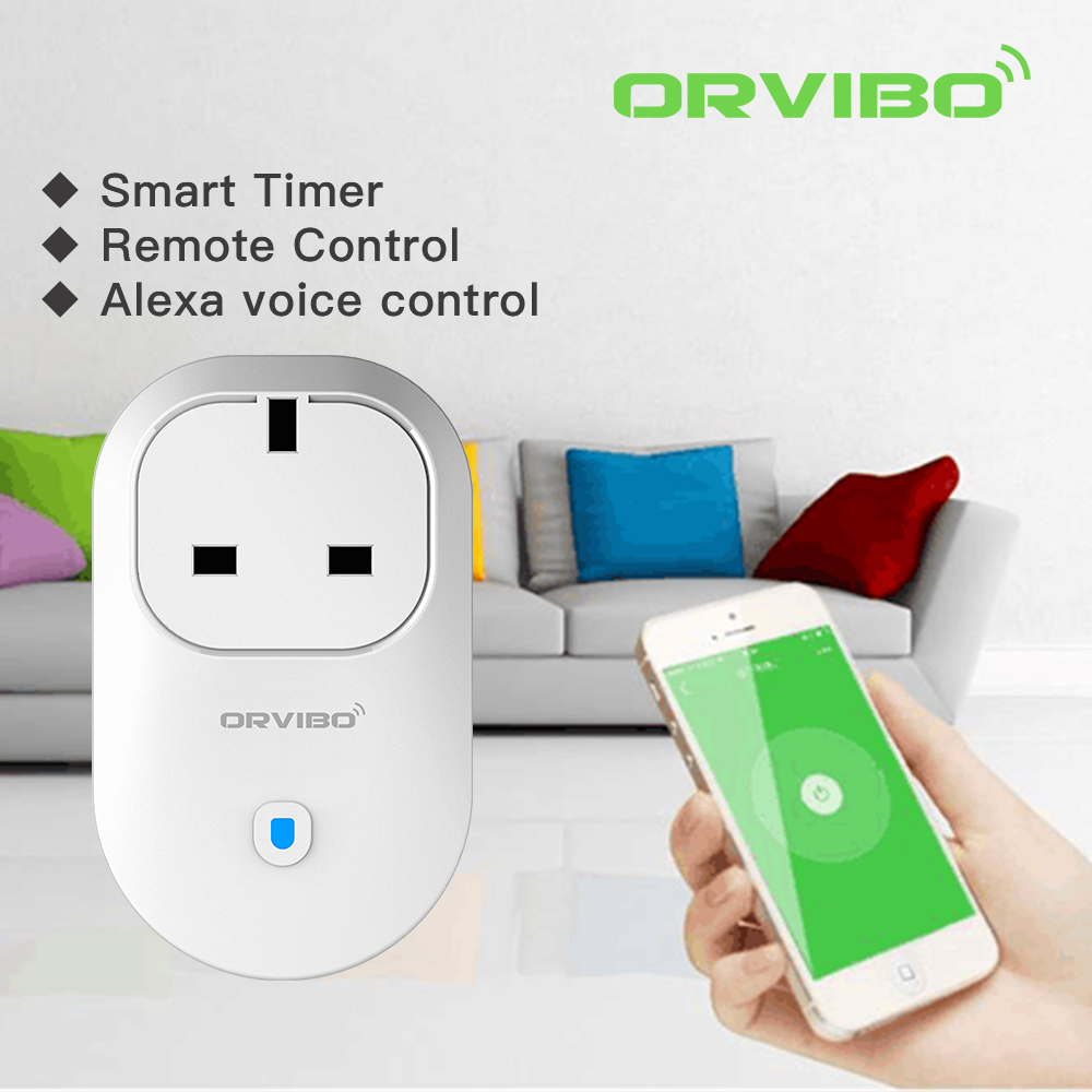 ORVIBO UK/US/EU/AUS smart wifi plug socket B25 Series wifi smart plug Alexa wifi plug