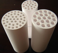 HIGH QUALITY ASSURANCE High Purity Ceramic 99-99.7% Al2O3 Insulating Rod And Pipe With Holes For Threading