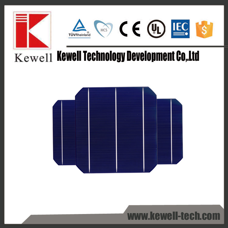 Best price high quality 3BB mono high efficiency solar cell with CE ISO IEC