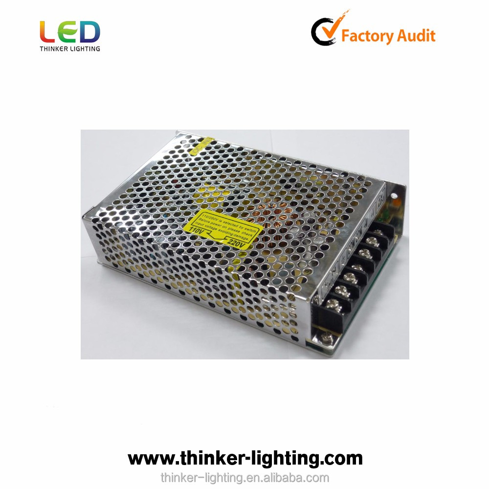 Thinker dc12v 100w Factory price 12 v power supply mental case led power supply for sale