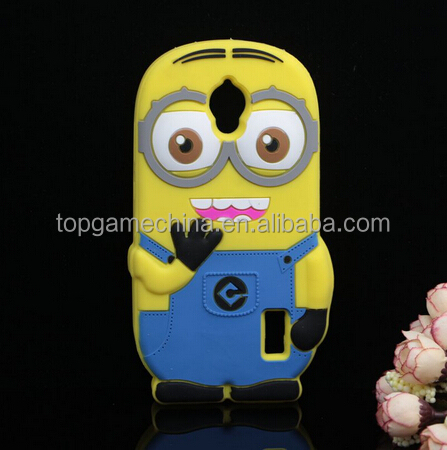New Cartoon Despicable Me 2 Minions Soft Silicone Cell Phone Case For Huawei Ascend Y625 Case