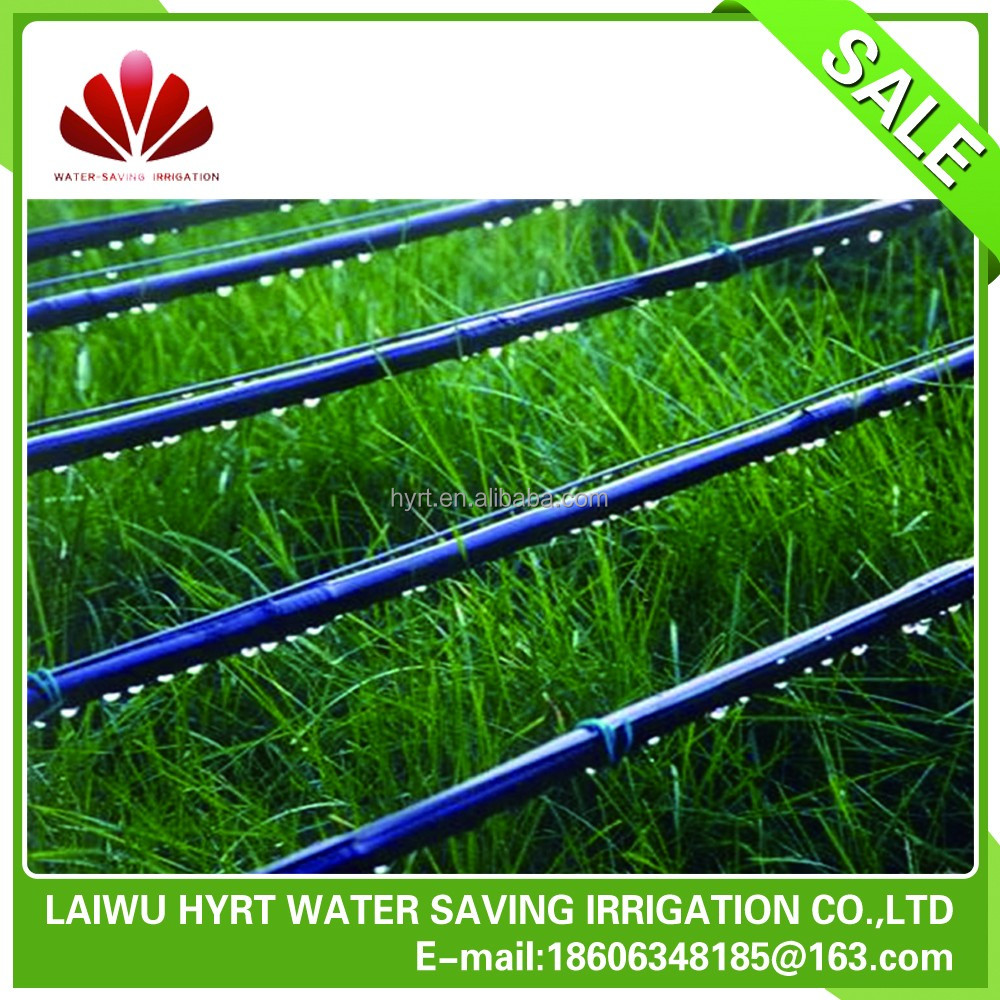 Inlay drip irrigation pipe in drip irrigation system agriculture