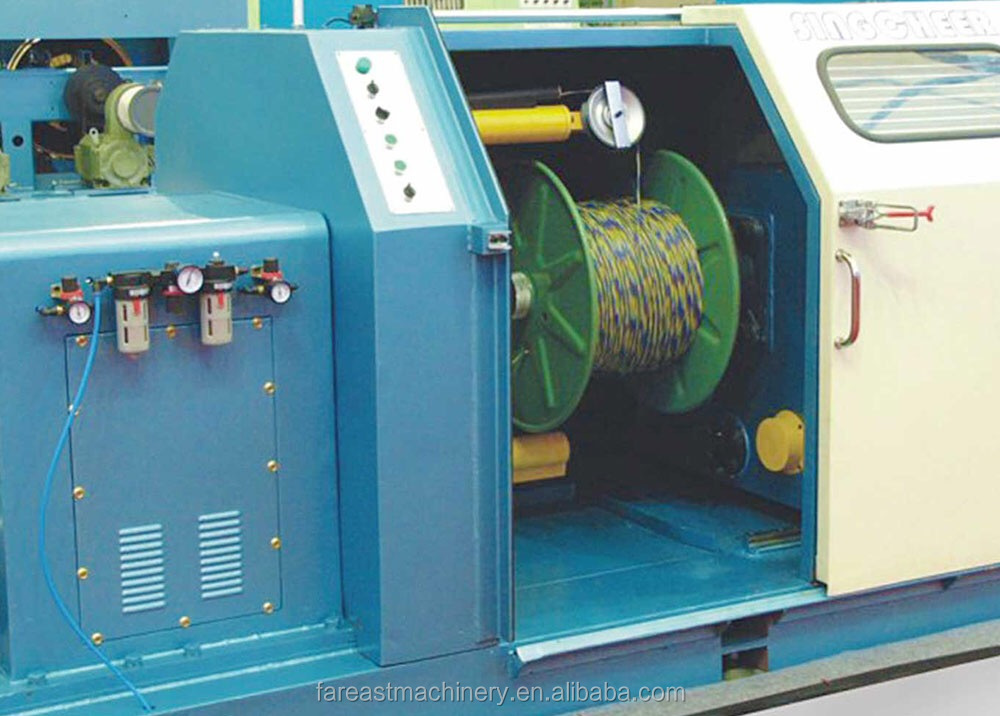 Electric Cable Wire Single Twisting Machine Electric Wire Cable Making Machine