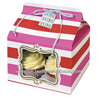 CAKE BOXES, VietNam supplier recycled cardboard food box/cake box packaging