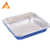 Food grade retortable aluminium trays by china manufacturer