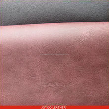 lichi grain 100% pu leather for shoes, New shoe material for high heel and sandal