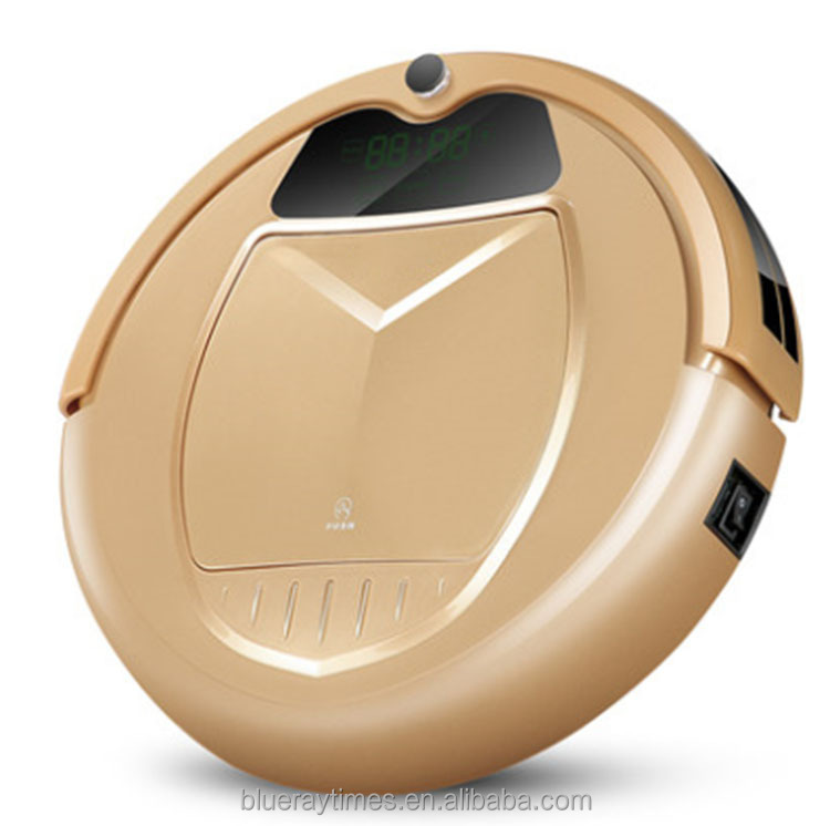 2015 brand cyclone dry bagless robot vacuum cleaner