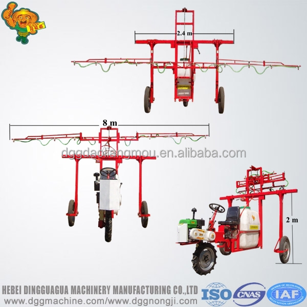 agriculture gasoline pesticide spraying machine