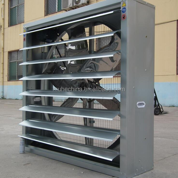 Automatic poultry shed ventilation fans, industrial exhaust fan