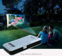 Mini Multimedia Pocket Cinema Handheld DLP Pico LED Projector, Handheld, Easy Carry