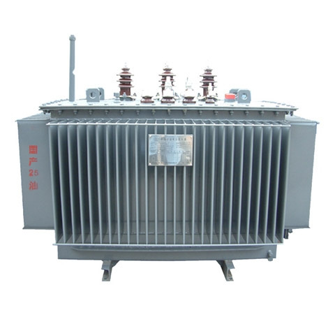 Three Phase 25 MVA 110KV Oil Immersed Power Transformer Price