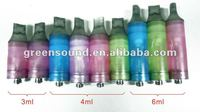 Newest product for 2012 ---Big capacity clear cartomizer
