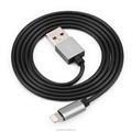 High quality 1m aluminium TPE jacket usb cable 8pin sync charger cable for i5 6