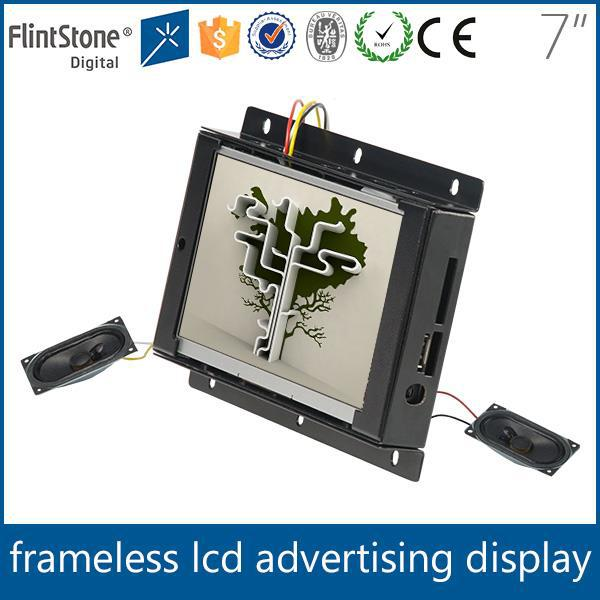 "Point of sale mini 7"" open frame pop monitor"