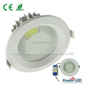 dimmable cob led downlight 20w ce rohs 2 years warranty