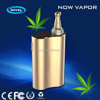 latest patent dry herb wax atomizer,wholesale e cigarette x7 bamboo vaporizer with 30's heating time