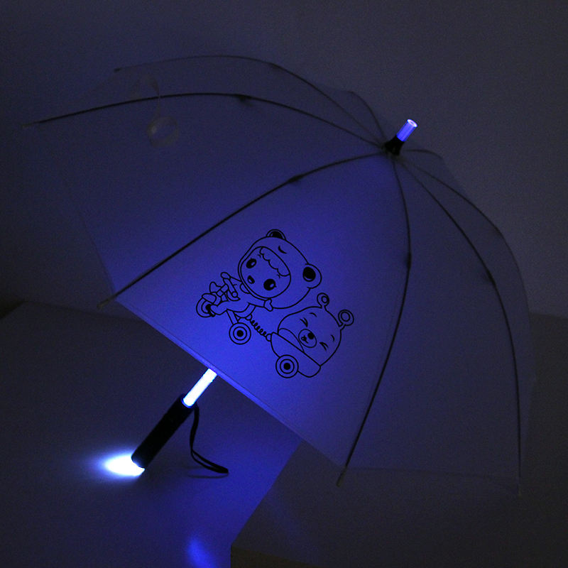 fashion new advertisement led umbrella with light