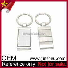 Promotional Wholesale Custom Logo Cheap Metal Blank Key Tags