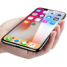For iphone x screen protector clear 2.5d 9h cell phone tempered glass screen protector for iphone 8 7 6 plus