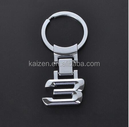 Zinc Alloy Metal Car Logo Chaveiro Keychain Key Chain Key Ring Keyring For BMW 3 Key Holder