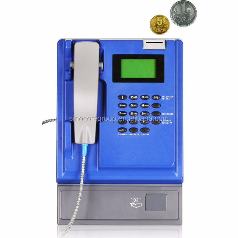 T506 Indoor Coin-Operated Payphone