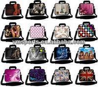 14inch to 17inch neoprene Laptop Sleeve Case Bag with Handle & Shoulder