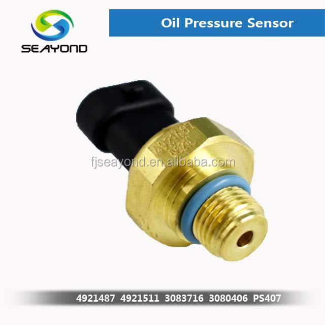 24V New Oil100 Psi Pressure Sensor For Dodge Ram 2500 <strong>N14</strong> M11 ISX L10 Engines