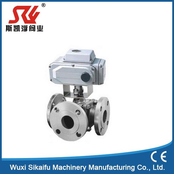 Factory supply 1 1/2 inch 3 way ball valve