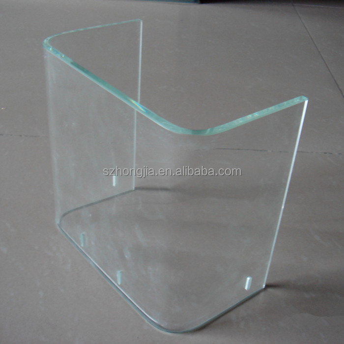 Heat bending glass