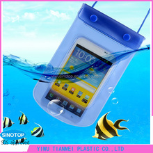 New design clear plastic pvc waterproof case for smartphone