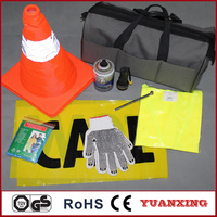 Auto Emergency Tool Set for car accessories roadside YXH-201246
