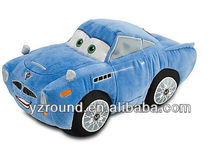 bule plush toy car